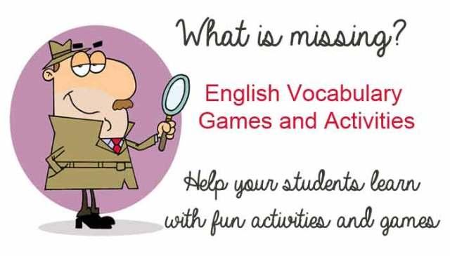 Fun and Games in English!