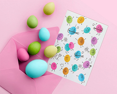 Make your own Easter card!